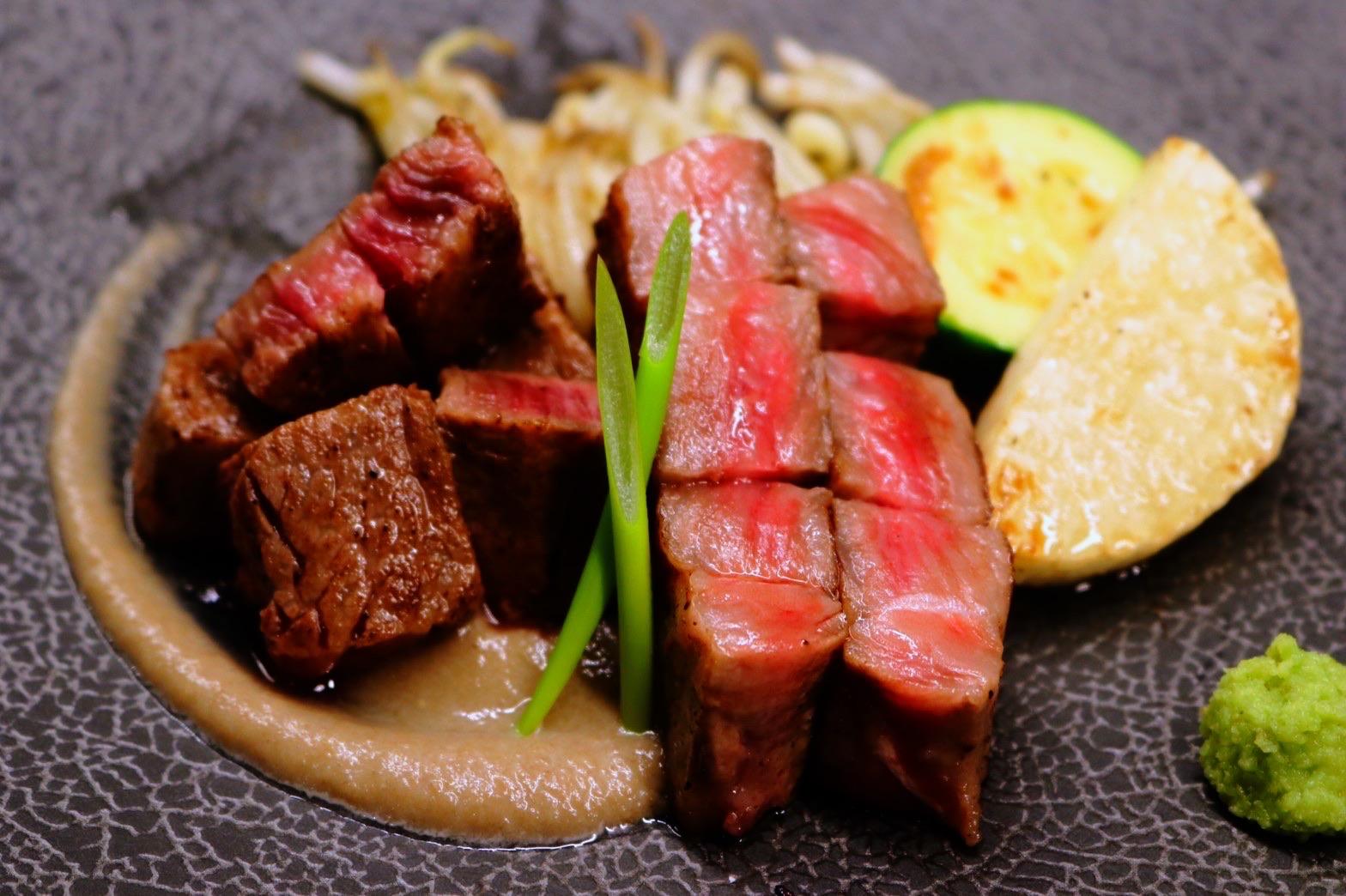 ◆黒毛和牛ステーキ◆ 3,000円(税込3,300)